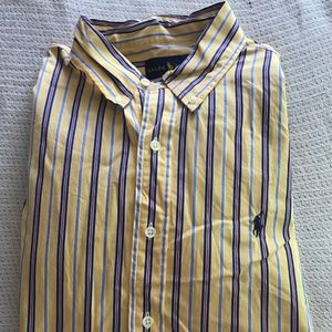 Long Sleeve Dress Shirt Ralph Lauren